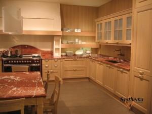 Ξυλινη κουζινα μασιφ σημυδα