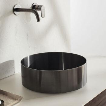 Inox νιπτήρες μπάνιου